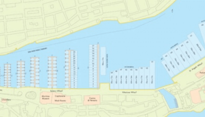 Grand Harbour Marina map image