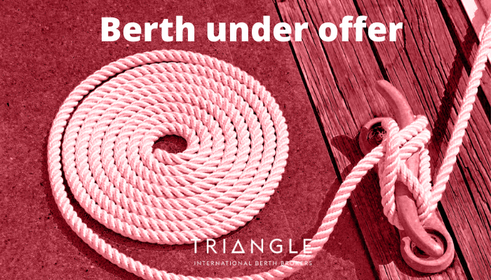 Berth under offer