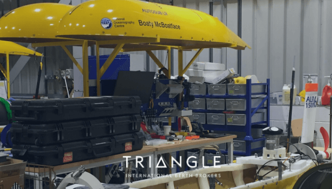 Boaty McBoatface an autosub long-range autonomous vehicle