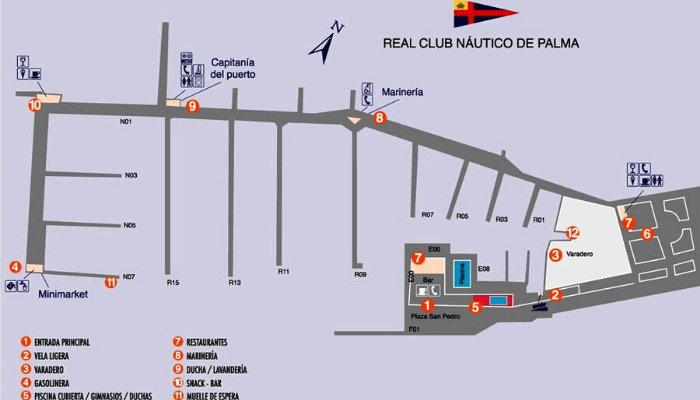 Real Club Nautico de Palma map image