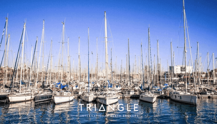 Real Club Nautico de Palma boats in the marina