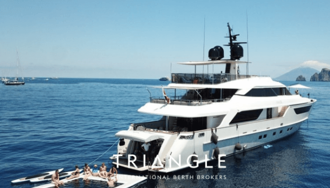 £15 Superyacht charter on AWOL