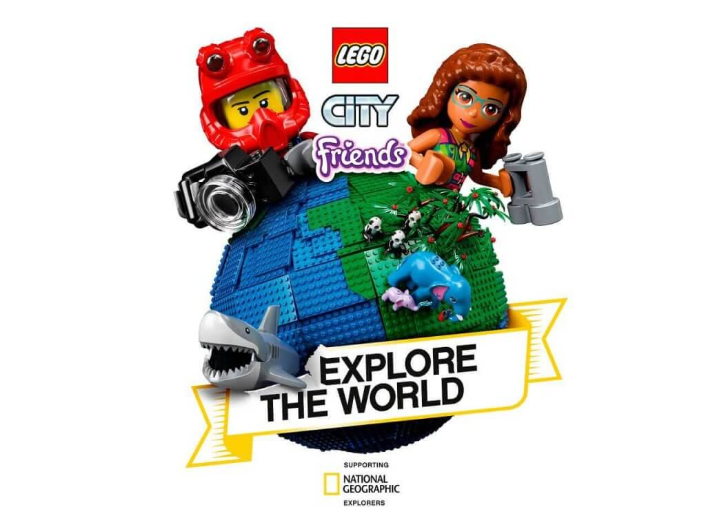 Lego group and National Geographic Explore the world