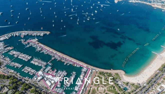 Cannes Yachting Festival Triangle Berth Brokers