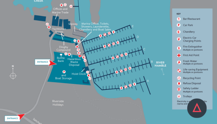 Mercury Yacht Harbour map image